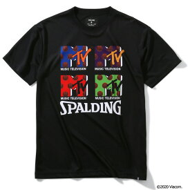 Tシャツ MTV TF-1000 SMT200030   正規品 SPALDING スポルディング バスケットボール バスケ NBA ウェア 練習着 半袖 シャツ メンズ レディース 男性 女性 ユニセックス 男女兼用