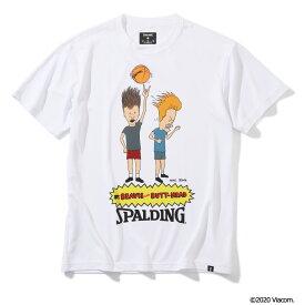 Tシャツ ビーバスアンドバットヘッド バスケットボール SMT200100 | 正規品 SPALDING スポルディング バスケットボール バスケ NBA ウェア 練習着 半袖 シャツ メンズ レディース 男性 女性 ユニセックス 男女兼用