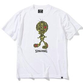 Tシャツ トゥイーティー カブキ SMT200510 | 正規品 SPALDING スポルディング バスケットボール バスケ NBA ウェア 練習着 半袖 シャツ メンズ レディース 男性 女性 ユニセックス 男女兼用