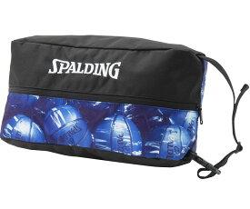 シューズバッグ マーブルブルー 42-002MBL   正規品 SPALDING スポルディング バスケットボール バスケ バッグ 靴 メンズ レディース 男性 女性 ユニセックス 男女兼用