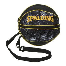 バスケットボール ボールバッグ ボールウィンドウ 49-001BW 男女兼用 SPALDING スポルディング