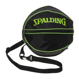 バスケットボール ボールバッグ ライムグリーン 49-001LG 男女兼用 SPALDING スポルディング