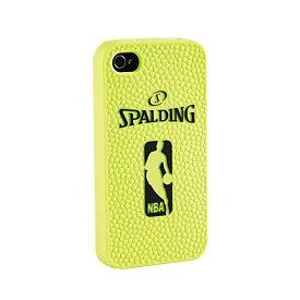 シリコンケース iphone5 イエロー 67-814Z | 正規品 SPALDING スポルディング バスケットボール バスケ NBA アクセサリー 小物