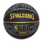 ゴールドハイライトラバー7号球NBAロゴ入り73-229ZSPALDINGスポルディング