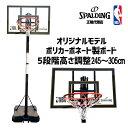 【送料無料】バスケットゴール オリジナルモデル ポリカーボネイト ブラック×ゴールド 42インチ NBAロゴ入り 73032 |…