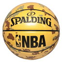 バスケットボール アンダーグラス カモ エナメル 7号球 74-972Z SPALDING スポルディング