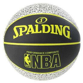 コンポジット スタティック 合成皮革 7号球 NBAロゴ入り 76-154Z | 正規品 SPALDING スポルディング バスケットボール バスケ NBA 7号 皮 革 人工皮革 屋内 室内