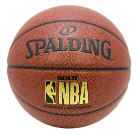 ゴールド 合成皮革 5号球 NBAロゴ入り 76-504J | 正規品 SPALDING スポルディング バスケットボール バスケ NBA 5号 皮 革 人工皮革 屋内 室内