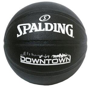 ダウンタウン 合成皮革 5号球 76-587J | 正規品 SPALDING スポルディング バスケットボール バスケ 5号 皮 革 人工皮革 屋内 室内