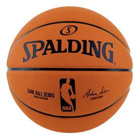 ゲームボールレプリカ ラバー 6号球 NBAロゴ入り 83-043Z | 正規品 SPALDING スポルディング バスケットボール バスケ NBA 6号 ラバー ゴム 屋外 外用 屋内 室内
