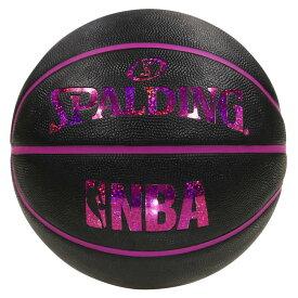 ホログラム ラバー 6号球 NBAロゴ入り 83-661J | 正規品 SPALDING スポルディング バスケットボール バスケ NBA 6号 ラバー ゴム 屋外 外用 屋内 室内