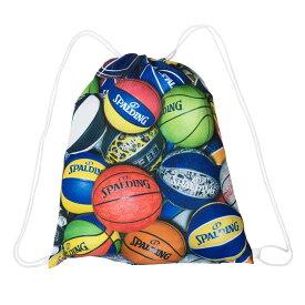 ナップサック マルチボール SAK001MLB | 正規品 SPALDING スポルディング バスケットボール バスケ バッグ メンズ レディース 男性 女性 ユニセックス 男女兼用