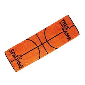 ボールモチーフタオル SAT130290   正規品 SPALDING スポルディング バスケットボール バスケ NBA タオル アクセサリー 小物 ギフト