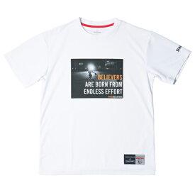 Tシャツ トゥルービリーバーズ エフォート SMT181030 | 正規品 SPALDING スポルディング バスケットボール バスケ NBA ウェア 練習着 半袖 シャツ メンズ レディース 男性 女性 ユニセックス 男女兼用