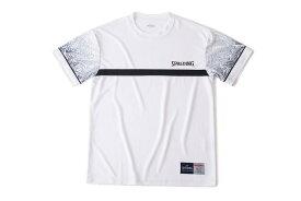 Tシャツ ポリネシアン SMT190260 | 正規品 SPALDING スポルディング バスケットボール バスケ NBA ウェア 練習着 半袖 シャツ メンズ レディース 男性 女性 ユニセックス 男女兼用