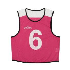 ビブス6枚セット No.6〜11 SUB130720 | 正規品 SPALDING スポルディング バスケットボール バスケ NBA ウェア 練習着 メンズ レディース 男性 女性 ユニセックス 男女兼用