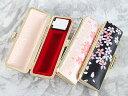 ◆『印鑑ケース・はんこケース』桜プリズムケース/10.5mm〜12mm用/2色から選べます。/おしゃれ!/朱肉付き/プレゼントやギフトに!【10.5ミリ・12ミ...
