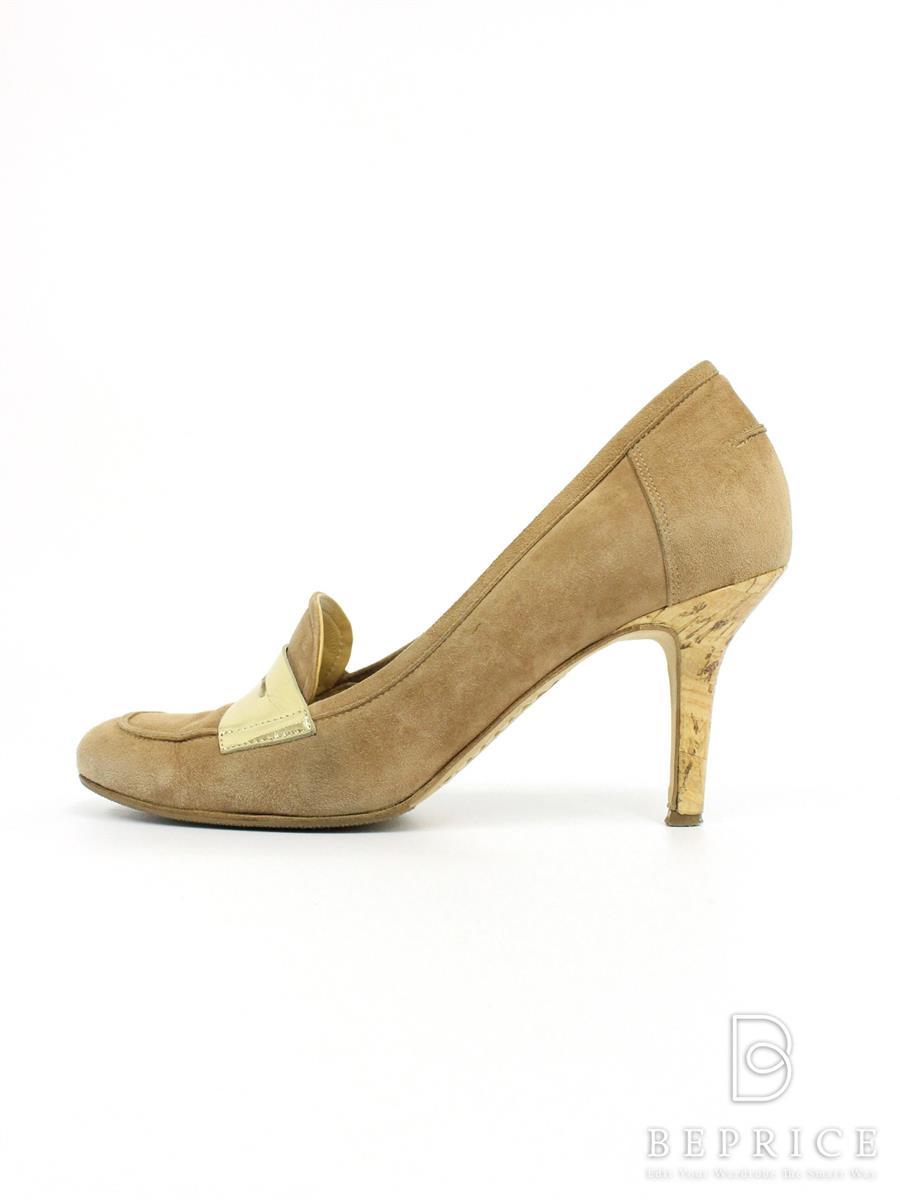 PELLICO ペリーコ 靴 パンプス スエード ヒール【37.5】【Bランク】【中古】tn290903t