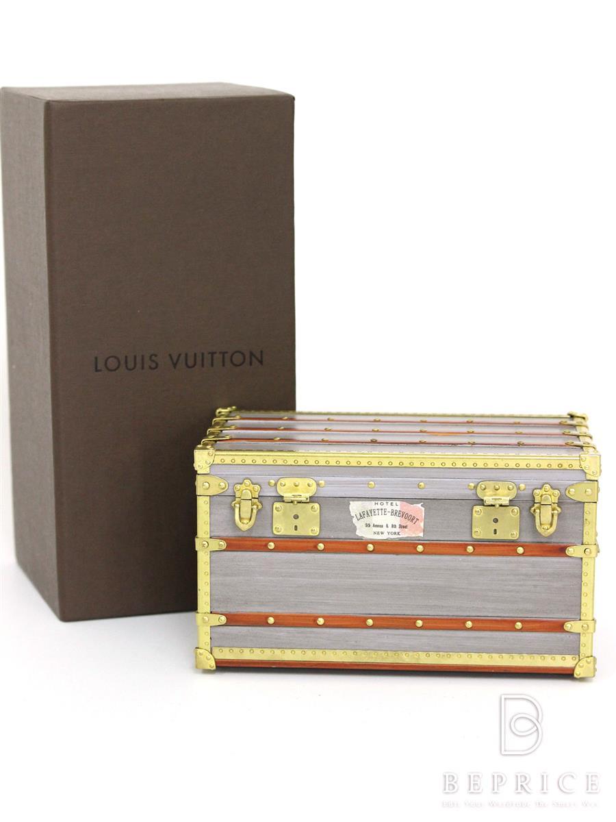 LOUIS VUITTON ルイヴィトン ペーパーウェイト トランク M99455【Sランク】【中古】tn291019t