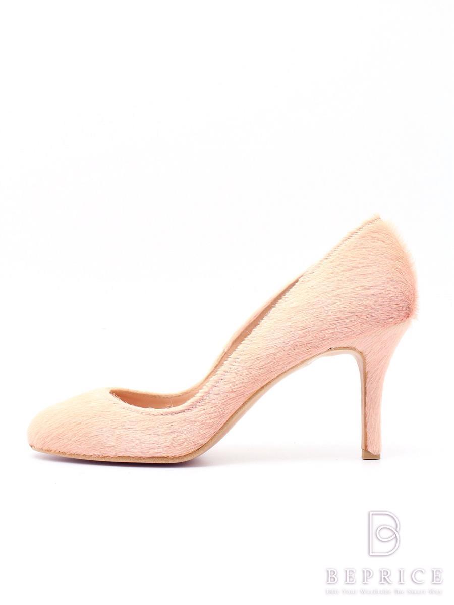 Pippi ピッピ 靴 パンプス ハラコ【36.5】【Bランク】【中古】tn300114t