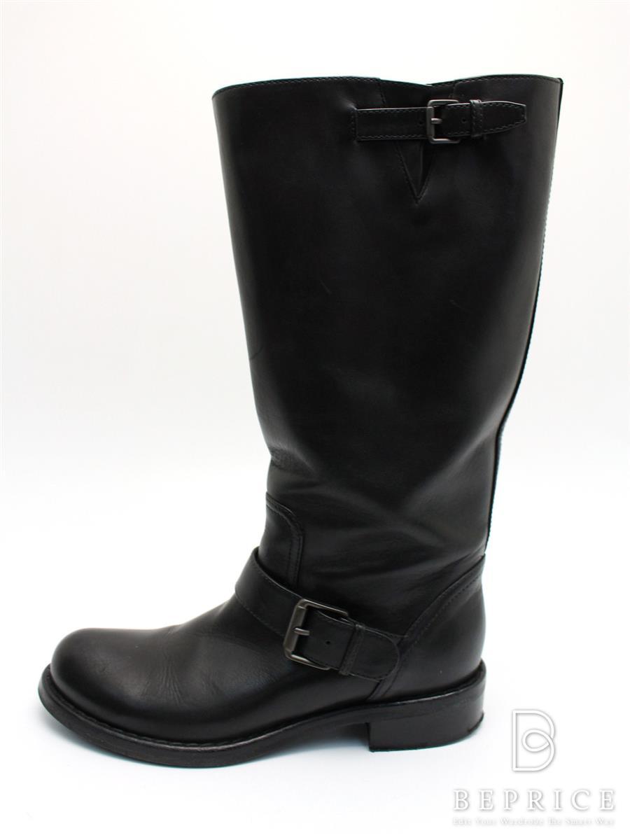 BOTTEGA VENETA ボッテガヴェネタ 靴 ブーツ レザー【35.5】【Aランク】【中古】tn300121t