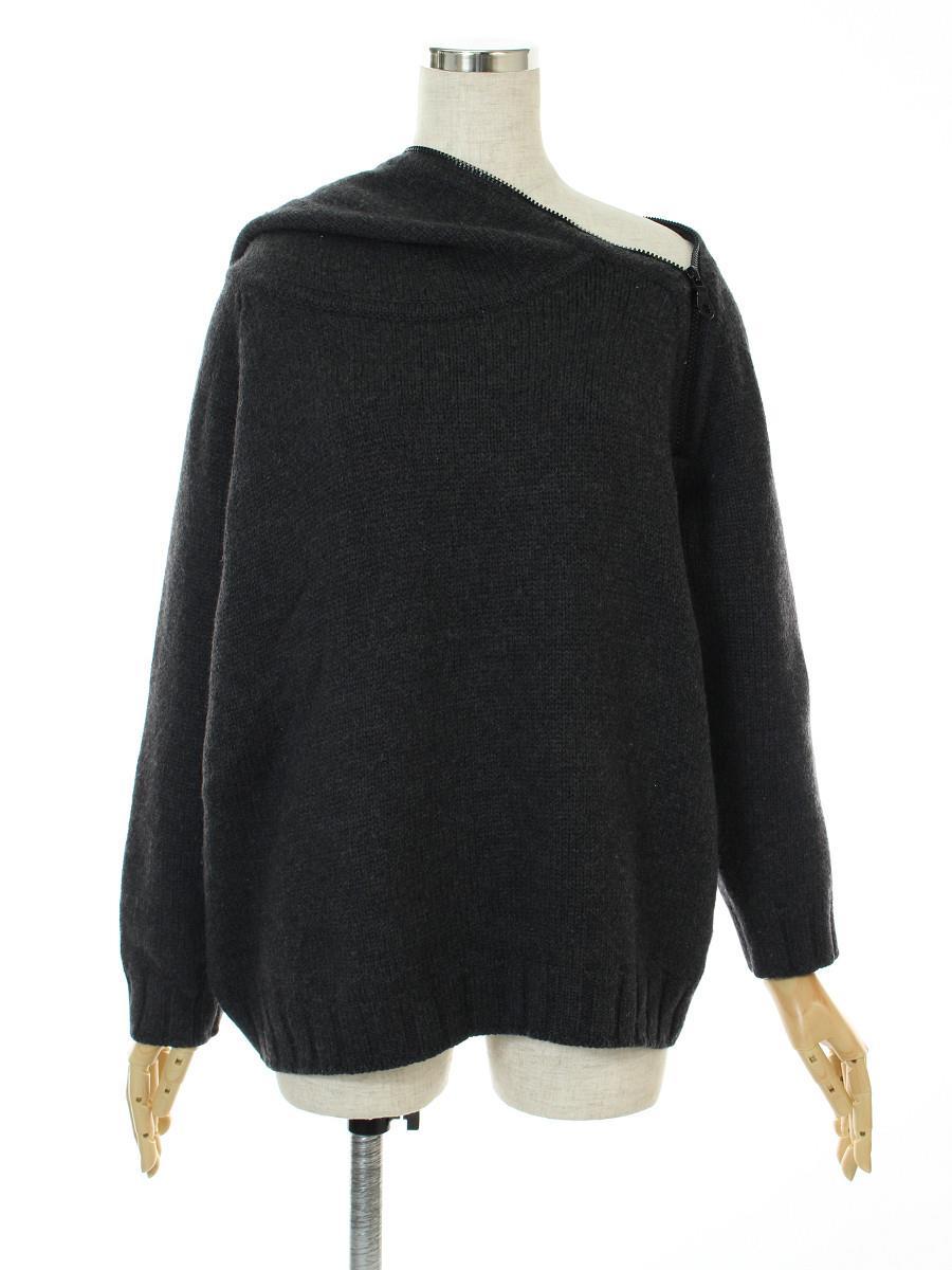 CHANEL シャネル トップス 長袖 セーター フード付き【42】【Bランク】【中古】tn300510t