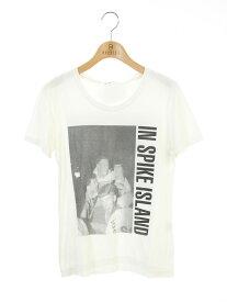 LAD MUSICIAN ラッドミュージシャン Tシャツ カットソー 前面プリント 半袖 40【Bランク】【中古】tn300930