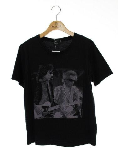 LAD MUSICIAN ラッドミュージシャン Tシャツ カットソー 前面プリント 半袖 40【Bランク】 【中古】 tn181025