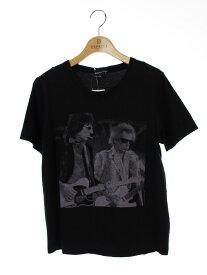 LAD MUSICIAN ラッドミュージシャン Tシャツ カットソー 前面プリント 半袖 40【Bランク】【中古】tn301025
