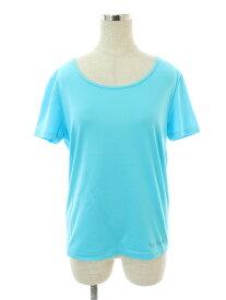 レオナール Tシャツ カットソー ストーン ワンポイント 半袖 40【Aランク】【中古】tn310110
