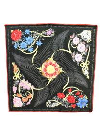エルメス スカーフ 花柄 カレ90 花柄【Bランク】【中古】tn190224