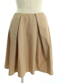 フォクシーニューヨーク スカート Skirt ノアゼット ワンポイント 42【Aランク】【中古】tn190526