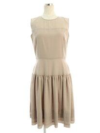 フォクシーブティック ワンピース 39427 Dress Lady Grace 無地 ノースリーブ 38【Sランク】 【中古】 tn190609