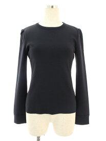フォクシーブティック Tシャツ カットソー 36949 knit Top Simple Long Sleeve 長袖 38【Aランク】【中古】tn190616