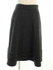 フォクシーブティック スカート 39198 Knit Skirt Baroque 38【Aランク】 【中古】 tn190630