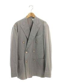 ボリオリ ジャケット coat テーラード ダブル メタルボタン 無地 48【Aランク】 【中古】 tn190627