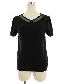 フォクシーブティック Tシャツ カットソー 39545 Tops PETET TULLE 半袖 40【Aランク】【中古】tn190725