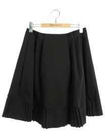 フォクシーニューヨーク スカート 31820 Skirt リズミカルリボン 42【Aランク】【中古】tn190728