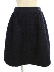 フォクシーブティック スカート 36643 Skirt Diagonal 2017年増産品 無地 40【Aランク】 【中古】 tn190818