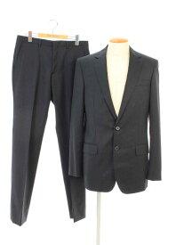 ルイヴィトン スーツ シングル 2つボタン ウール 無地 48/48【Aランク】 【中古】 tn190922