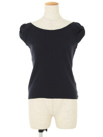 エムズグレイシー Tシャツ カットソー パフスリーブ 半袖 38【Aランク】【中古】tn200126