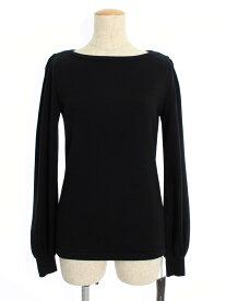 フォクシーブティック ニット セーター 40181 Sweater Cream Puff 長袖 38【Sランク】【中古】tn200126
