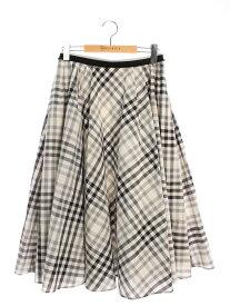 フォクシーブティック スカート 40986 Skirt Ms.Vichy 無地 40【Sランク】 【中古】 tn201025