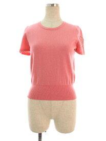 エムズグレイシー ニット セーター パール リボン 半袖 38【Aランク】【中古】tn201227