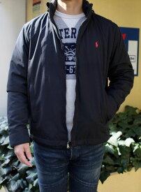 RALPH LAUREN(ラルフローレン)WATER-RESISTANT SOFT SHELL JACKET(防水ソフトシェル ナイロンジャケット)日本未発売モデル アメリカ買い付けジャケット 中綿入りブルゾン送料無料 あす楽対応