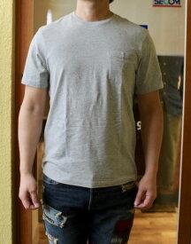 J.CREW(J.クルー)SLIM-WASHED POCKET-T-SHIRTS(スリム-ウォッシュド ポケットTシャツ)ジャストなスリムフィット 無地Tシャツ柔らかな肌触りのポケTEEHEATHER GREY あす楽対応