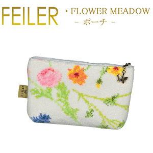 メール便 送料無料 フェイラー M4 ポーチ フラワーメドゥー Flower Meadow ポーチ Feiler Chenille Pouch