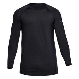 メール便送料無料 アンダーアーマー 【5】 Tシャツ 長袖 1306431-001 MK-1 ロングスリーブ ブラック