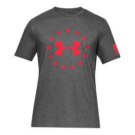 メール便 送料無料 アンダーアーマー【81】半袖 フリーダム ロゴ Tシャツ ショートスリーブ 1333351-019