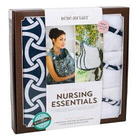 税込5,400円以上送料無料 ベベオレ 授乳 ケープ &バープクロスセット【 カムデンロック 】 Bebe Au Lait 【ギフトセット】 授乳服 ナーシングカバー Nursing Essentials 【あす楽対応】